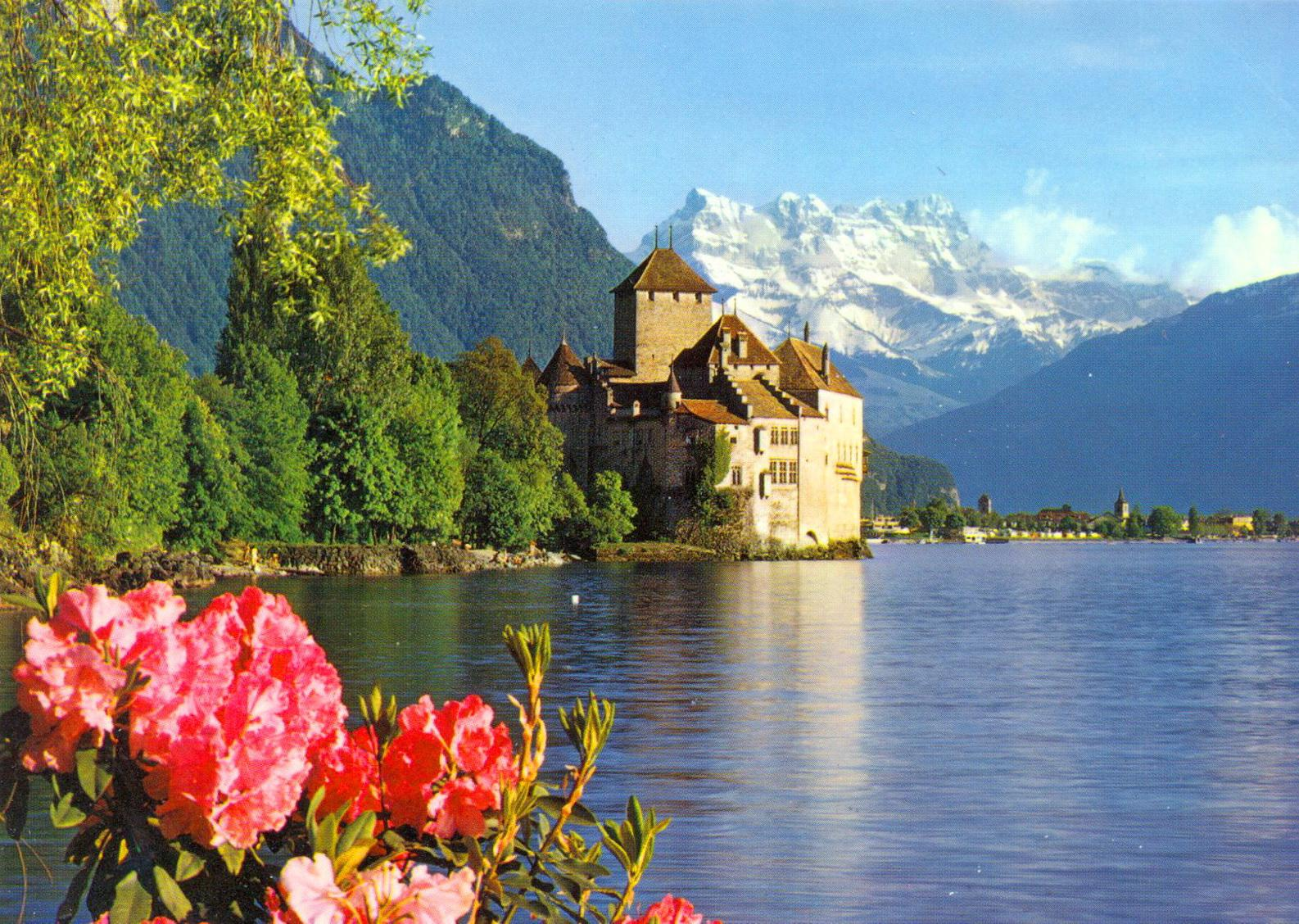 Chateau Chillon Castle by Executive Limousines Services | Museum | Weddings