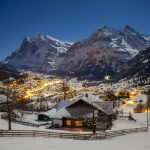 Grindelwald Winter Evening - Transfers by Executive Limousines Services
