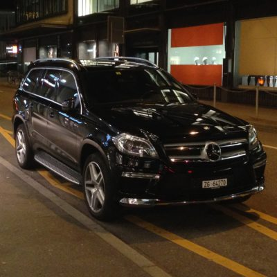 GL Mercedes in Zurich - Executive Limousines Services