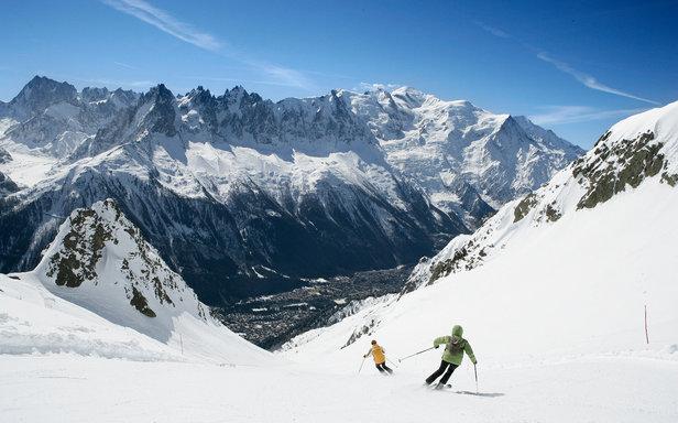 Skiing in France - Chamonix