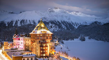 Badrutt's Palace St.Moritz - Switzerland's TOP 10 Holiday Hotel Resorts